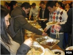 GWU Asian students share their culture with classmates by cooking foods from home