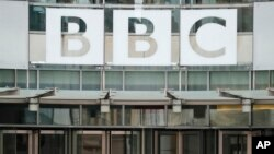 Kantor BBC di London, Inggris (foto: dok). John Sudworth, jurnalis BBC di China pindah ke Taiwan karena khawatir atas keselamatan dirinya.