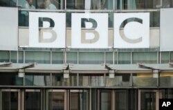 Kantor pusat BBC di London, Inggris. (Foto: dok).
