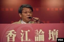 台灣《今周刊》總主筆范疇。(美國之音湯惠芸)