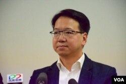 資訊科技界立法會議員莫乃光(美國之音湯惠芸 香港)