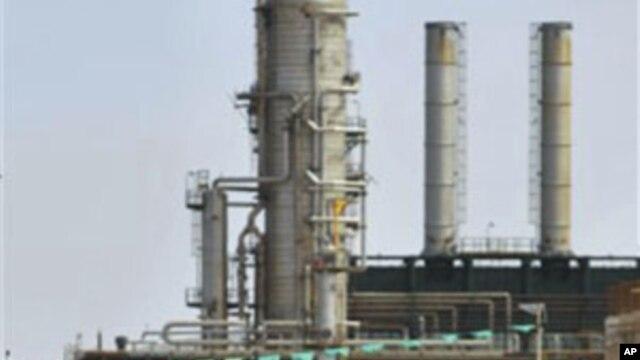 The Zawiya Oil Refinery, west of Tripoli, Libya  (File)