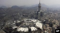 사우디아라비아 메카의 이슬람교 성전. (자료사진)