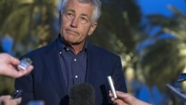 U.S. Secretary of Defense Chuck Hagel said on April 25 that allegations of chemical weapons use by the Assad regime must be investigated before increased military aid to rebels can be determined.