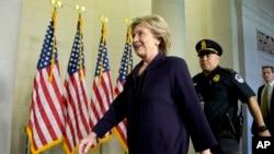 Hillary Clinton testifica ante la Comisión Especial de Investigación del caso Bengasi