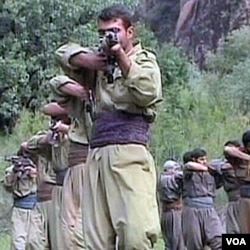 PKK se trenira u planinama Qendil