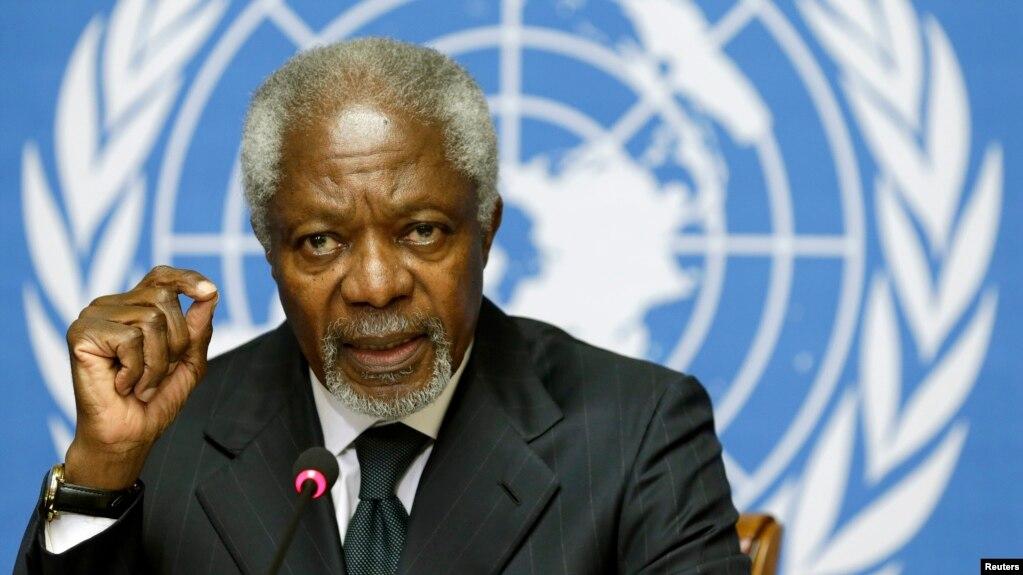 Kofi Annan fue durante dos mandatos secretario general de la ONU en Nueva York, de 1997 a 2006.