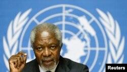 Katibu Mkuu wa zamani wa UN Kofi Annan