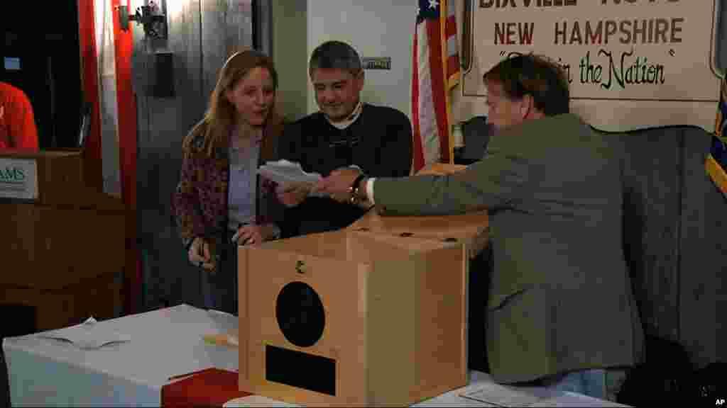 Les votes sont comptés à Dixville Notch, dans le New Hampshire, la première localité à voter le 6 novembre
