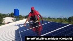 Instalação de um sistema eléctrico, USAID, Sofala