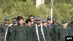 Các thành viên thuộc lực lượng Vệ binh Cách mạng Iran