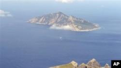 有爭議的釣魚島海域。(資料圖片)