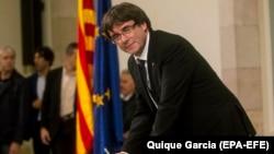 Caele Puigdement, jagoran 'yan awaren Spain