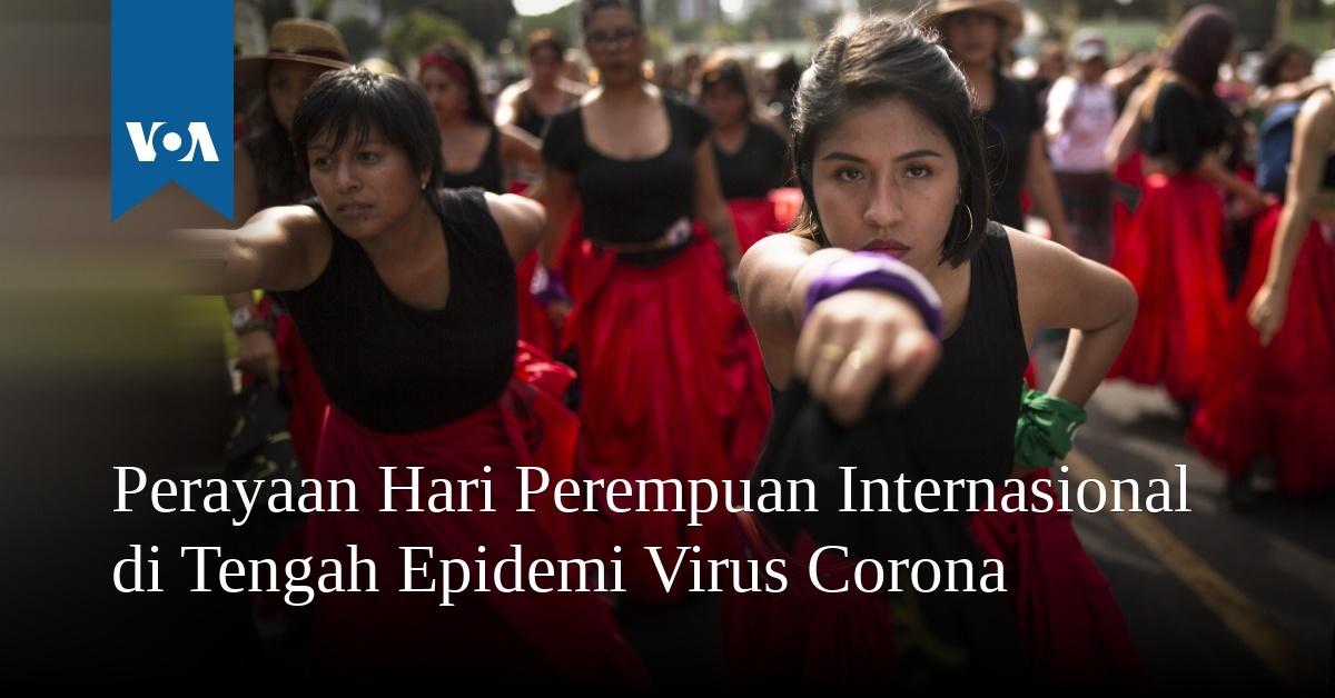 Perayaan Hari Perempuan Internasional di Tengah Epidemi Virus Corona