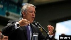 """El presidente de Colombia, Iván Duque, dice que Unasur """"ha sido un consueta de la dictadura de Venezuela""""."""