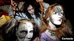 La casa embrujada cuenta con actores en vivo y una variedad de efectos especiales.[Foto: Cortesía, CuttingEdgeHauntedHouse].