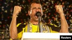 Henrique Capriles puntea en algunas encuestas reveladas una semana antes de las elecciones del 14 de abril.