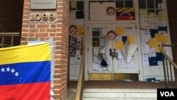 L'ambassade du Venezuela à Washington.