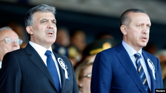 FILE - Turkey's President Abdullah Gul, left, and Prime Minister Recep Tayyip Erdogan, Istanbul.