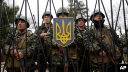 Ushtarë rusë në Krime