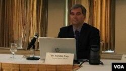 医生反对强制器官摘取组织(Doctors Against Forced Organ Harvesting)执行主任托尔斯滕·特雷(Torsten Trey)