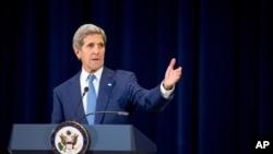 美國國務卿克里7月27日公佈2015年世界人口販賣報告稱美國必須制止人口販運。