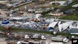 Наслідки циклону у місті Бейра, Мозамбік
