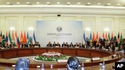 上海合作组织在2010年6月11日开会