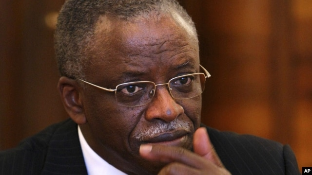 Uganda's Security Minister Amama Mbabazi, March 31, 2011.
