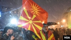 Protest u Makedoniji zbog pregovora sa Grčkom
