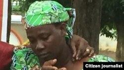 Madam Esther Yakubu daya daga cikin iyayen 'yan matana makarantar Chibok da har yanzu Boko Haram na garkuwa dasu