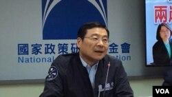 台湾国民党立委曾铭宗 (美国之音申华拍摄)