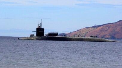 Một tàu ngầm lớp Ohio của Mỹ đến Philippines (ảnh tư liệu, 2014)