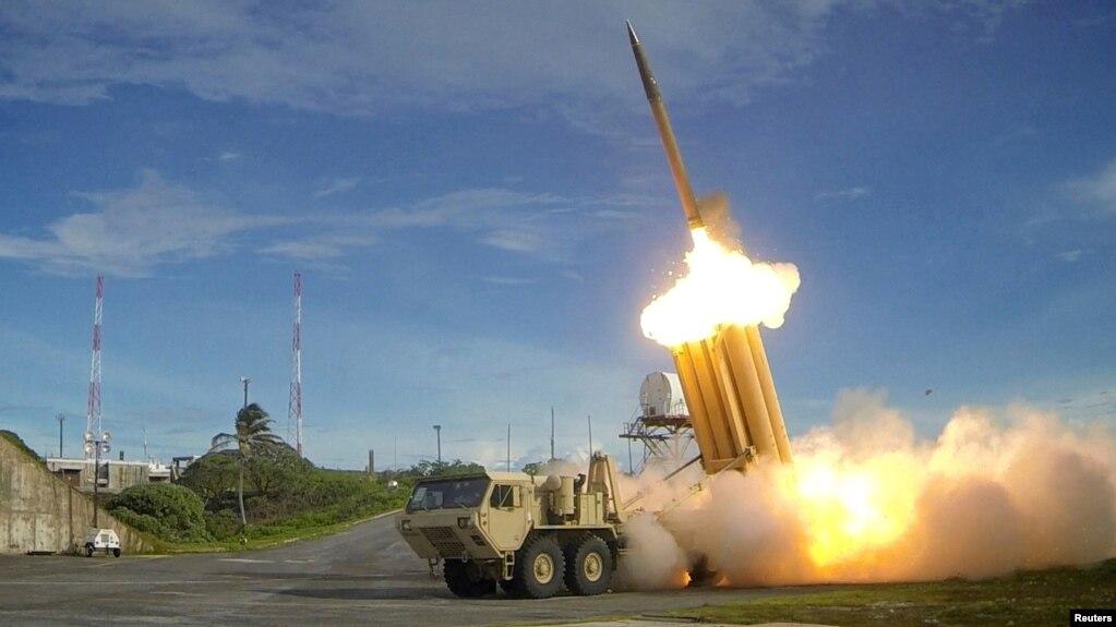 Mỹ phóng thử thành công một phi đạn thuộc hệ thống THAAD (ảnh của Bộ Quốc phòng Mỹ)