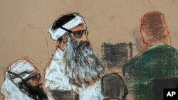 Khalid Sheikh Mohammed, người tự tuyên bố là chủ chốt vụ khủng bố 9/11, và 4 đồng lỏa sẽ được đưa ra xử vào thứ Bảy