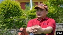 藏族僧人、人權活動人士嘉諾晉美(Golog Jigme)資料照。
