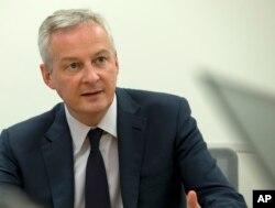 Menteri Keuangan Perancis, Bruno Le Maire. (Foto: dok).