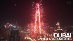 Fireworks Light Up the Skies on New Year's Eve