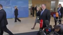 2018-04-27 美國之音視頻新聞: 新任國務卿蓬佩奧出席北約外長會議