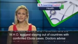 Ways to Avoid Ebola Infection