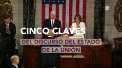 Cinco claves del discurso del Estado de la Unión