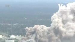 Ураган «Лора»: великий витік на хімічному заводі. Відео