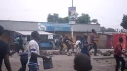 Vidéo de la manifestation de Goma, 22 janvier 2015