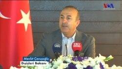 Çavuşoğlu: 'YPG Münbiç'ten Ayrılırken Silahdan Arındırılacak'
