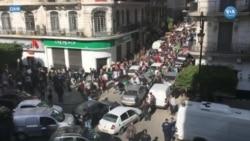 Cezayir'de Binlerce Kişi Buteflika'ya Karşı Yürüdü