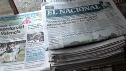 Venezuela: alertan sobre crítica situación de la prensa