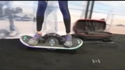 Пересувні скейтборди, мобільні платформи та інші найновіші засоби персонального пересування. Відео