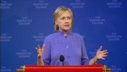 Clinton on International Relationship Building, Trump's Rhetoric