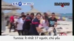 Tấn công khủng bố ở Tunisia, ít nhất 37 người thiệt mạng (VOA60)
