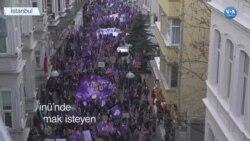 İstiklal Caddesi Kadın Yürüyüşüne Kapatıldı